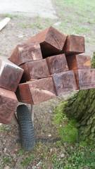Wood with Wheelbarrow