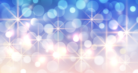 New year background with glittering bokeh lights, christmas bokeh background.