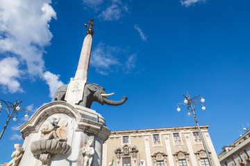 Symbol of Catania is Fountain of the Elephant.