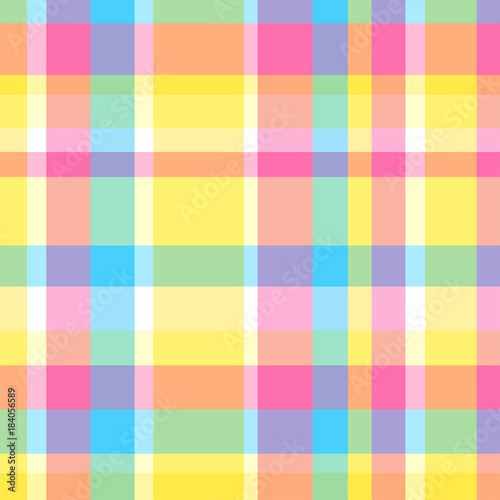 Seamless Multicolored Pattern Background Abstract Geometric