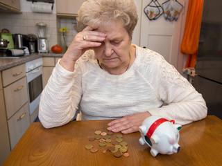 Geldsorgen im Alter