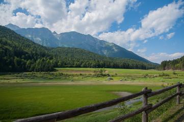 A landscape in Andalo, Trento