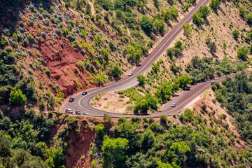 Scenic highway in Utah