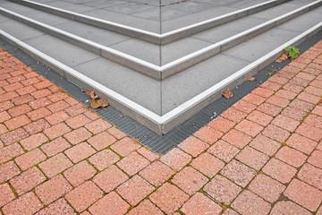 Pflastersteine Stein Gehweg