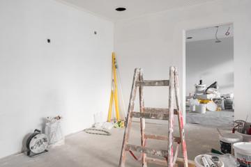 Innnenausbau einer Wohnung  Baustelle