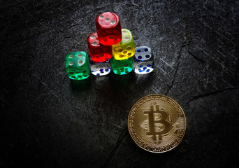 Bitcoin risk dice
