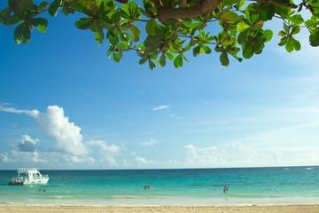Beach in Punta Cana, Dominican Republic.