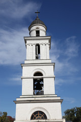 Nativity Cathedral and bell tower in Kishinev (Chisinau), Moldova