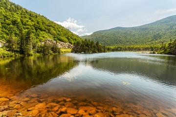 Profile Lake in Franconia Park.