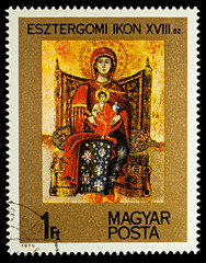 Esztergom Icon, 18th century