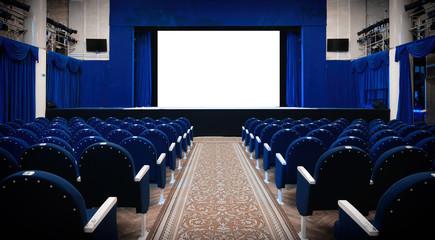Theater interior view