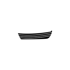 simple boat icon. Water transport elements. Premium quality graphic design icon. Simple icon for websites, web design, mobile app, info graphics