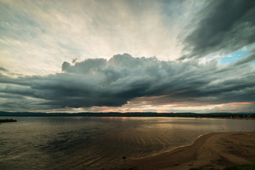 Sunset, Deer Lake, Humber Valley, Newfoundland & Labrador