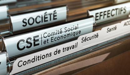 CSE, Comité Social et Economique