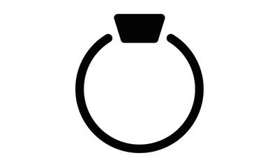 Ring Icon Illustration