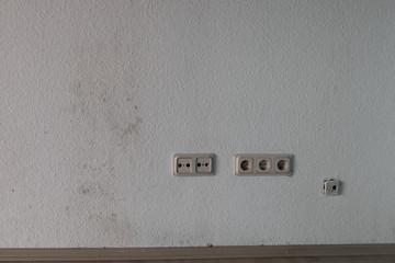 Schimmel, feuchte Wand, Bauschaden, falsches Lüften