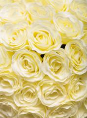 Bouquet of beautiful tea-roses