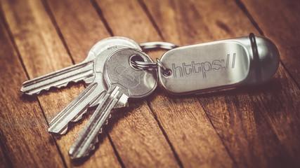 trousseau de clés : https