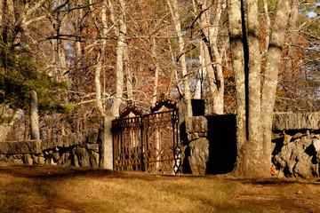 Danvill Cemetery Gate