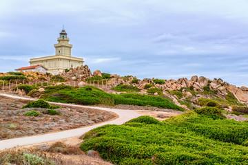 Leuchtturm Capo Testa Landzunge Sardinien