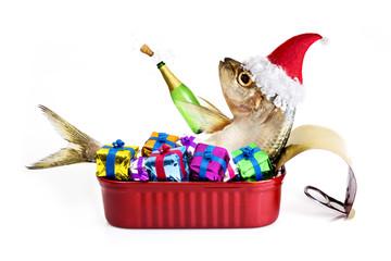 Santa sardine