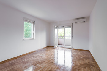 Obraz House interior with empty room - fototapety do salonu