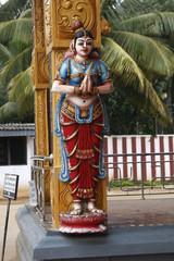 Buddhistische Tempel und Buddha in Sri Lanka