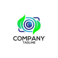 camera leaf logo