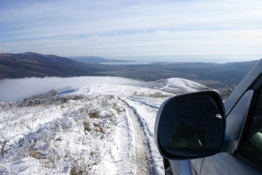 Mountain winter tale in Gelendzhik