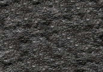 stone texture background dark black grainy natural base