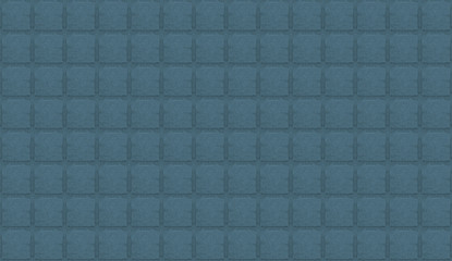 canvas stone cement tile texture background blue green tones symmetrical square pattern