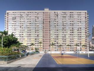 Public Housing Estate in Hong Kong