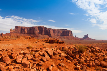 Monument Valley in the Navajo Tribal Park, USA
