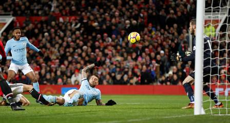 Premier League - Manchester United vs Manchester City