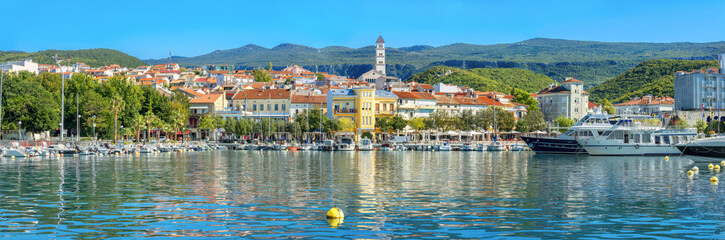 Wall Mural - Resort town Crikvenica. Istria, Croatia