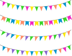 Bunting Flags, Celebration, Party Decoration Item
