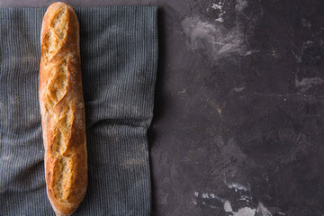 French fresh baguette.