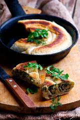 Burek, traditional Turkish pie