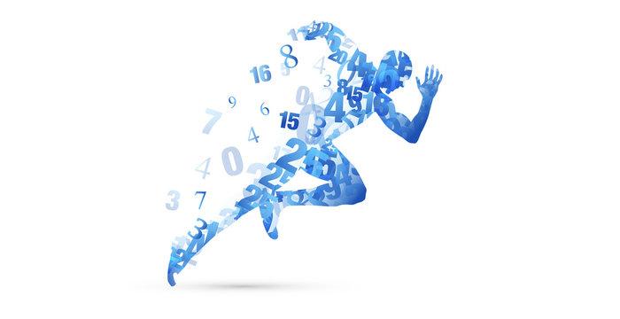 corsa, correre, competizione, sport, numeri