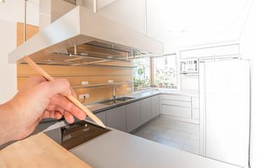 Modernes Küchendesign