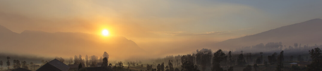 sunrise at cemoro lawang