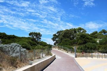 Way at Woodman Point at Indian Ocean, Perth Western Australia