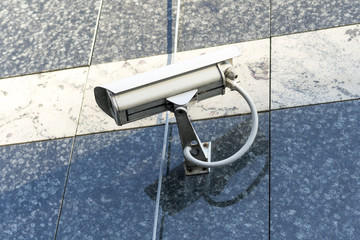 Security IR camera for monitor events in city