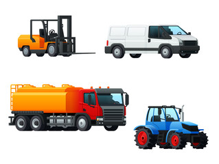 Transportation 3d icon design with road transport