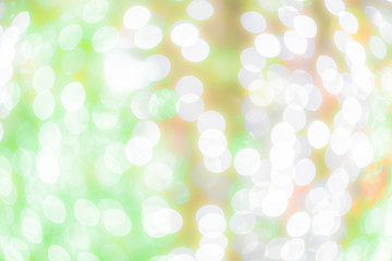 Light abstract bokeh background of light element