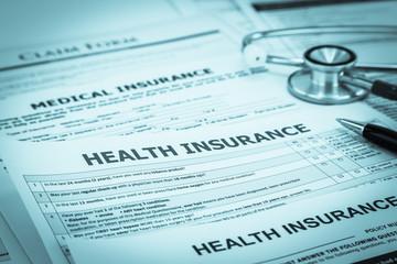 Fototapeta Diagnosis disease insurance service support obraz