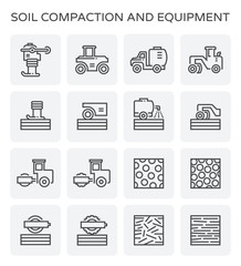 soil compaction icon
