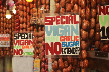 Sausages from Vigan in the Philippines