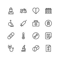 Pharmaceutical flat icon