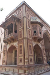 Sheesh Mahal, Tomb of Akbar, Sikandra, Agra, India